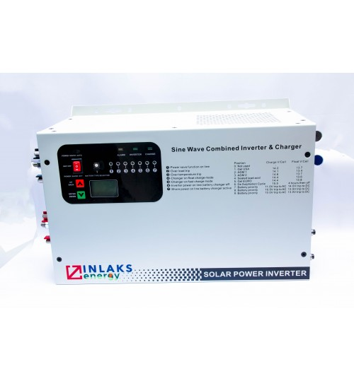 INVT Solar inverter with MPPT charger,3 Kw, 24 V DC, LCD