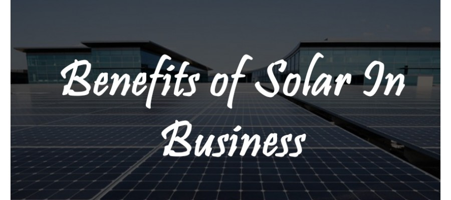 Solar Power In Business