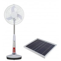 "16"" Solar Standing Fan with 40W Solar Panel SF-006"